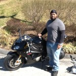 Alton Spruell with his 2015 S1000RR from Upper Marlboro, MD