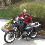 Michael Vaughn with his 2014 G650GS from Frederick, Md