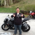 Brady Oroncewith his 2015 S1000RR from Columbia, MD