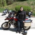 Brian Miller with his 2014 F800GS Adventure from Arlington, Va