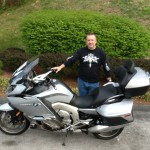Chuck Dean with his 2015 K1600GTL fromColumbia, Md
