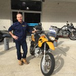 Happy New Bob's customer Steve and his new 2001 F650GS.