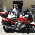 Michael Landis from Annapolis, MD with his 2015 K1600GT(S)