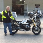 Earl Walker with his 2015 R1200RT from Middletown, De