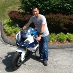 Ray Chan with his 2015 S1000RR from Ashton, md