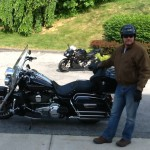Wayne Miller with his 2013 Road King from Sykesville, Md