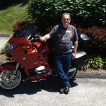 Chris McFarland with his 2003 R1150RT from Springfield, Va