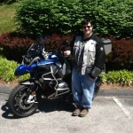 Ray Giroux with his 2015 R1200GS ADVENTURE from Bowie, Md