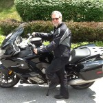Kevin Markwell from Annapolis, MD with his 2015 BMW K1600GT