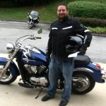 Phil Hill with his 2010 Kawasaki Vulcan from Columbia, Md