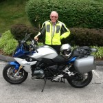 Chuck Boyd with his 2016 R1200RS from Falls Church, Va