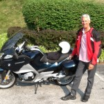 Thomas Somerville with his 2012 R1200RT from Edgewater, Md
