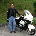 James Nichols with his  1999 R1100RT-P from Oakton, Va