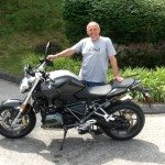 Chet Hopeburn with his 2015 R1200R from Arlington, Va