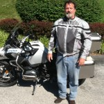 Bruce McLaughlin from Pikesville, MD with his 2015 R1200GS Adventure