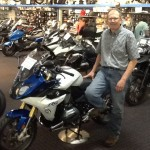 Dave Troxell from Chambersburg, PA with his 2016 R1200RS