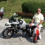 Steve Covington from Severna Park, MD with his 2015 R1200GS Adventure