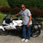 Earnest Holloman from Damascus, MD with his 2015 K1300S
