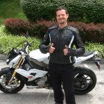 Michael Grahek with his 2015 S1000R from Fredericksburg, Va