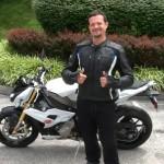 Michael Grahek with his 2015 S1000R from Fredericksburg, Va