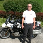 William Parker with his 2011 R1200GS from Annapolis, MD
