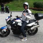 Stoyan Dimitrov with his 2011 F800R from Washington, DC