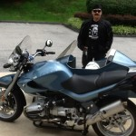 Scott Cody with his 2002 R1200R Side Car from Knoxville, MD