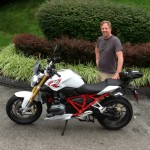 Dan Gillis with his 2015 R1200R from Annapolis, MD