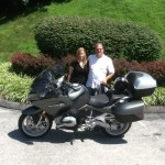 Martin & Kristen Elek with their 2015 R1200RT from Morgantown, WV
