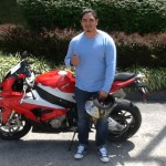 Angel Rivera with his 2015 S1000RR from Baltimore, MD