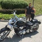 Juan Carlos at Bob's BMW