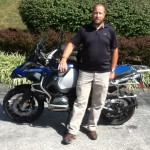 Jeffrey Alfeld with his 2015 R1200GS ADVENTURE from Waynesboro, PA