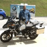 Chet with his 2015 R1200GS Adventure.