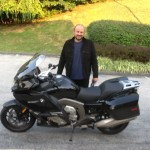 Zilvinaswith his 2015 BMW K1600GT.
