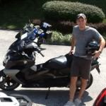 Greg with his 2013 BMW C650GT.