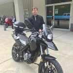 George Sellner with his G650GS from Centerville, MD