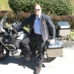 David with his 2012 R1200GS Adventure at Bob's BMW.