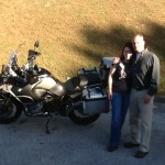 David & Jeanette with their 2013 R1200GS Adventure