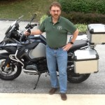 Robert with his R1200GS Adventure