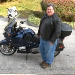 Vincent with his 2004 R1150RT.