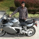 Daniel with his 2006 K1200S.