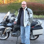 Brian with his 2015 R1200GS