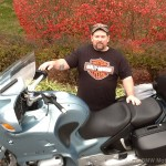 Thomas B. with his 2000 R1100RT.