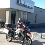Tim with his 2015 R1200GS.