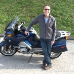 Daniel D. with his 2007 BMW R1200RT.