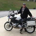 Sebastian C. with his 2005 BMW R1200GS.