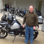 Joey with his 2016 BMW R1200GS Adventure.
