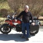Bob Trainor, 2016 F700GS.