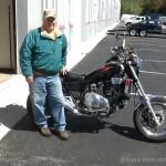 Johnny Butcher,  '86 Honda Magna.