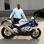 Tori J.  and his 2016 S1000RR!